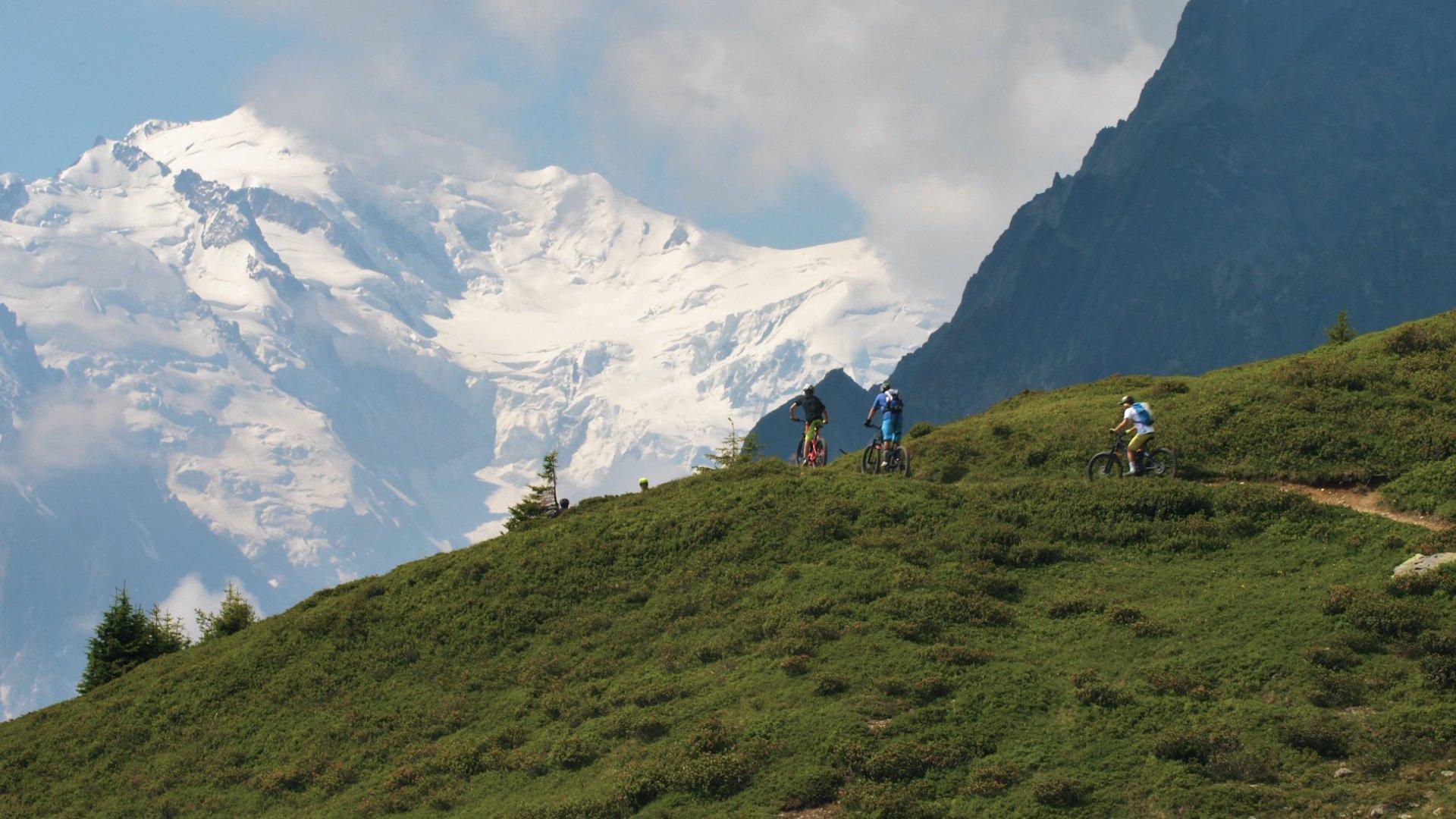 E Bike Mont Blanc Ride Compagnie Des Guides De Chamonix