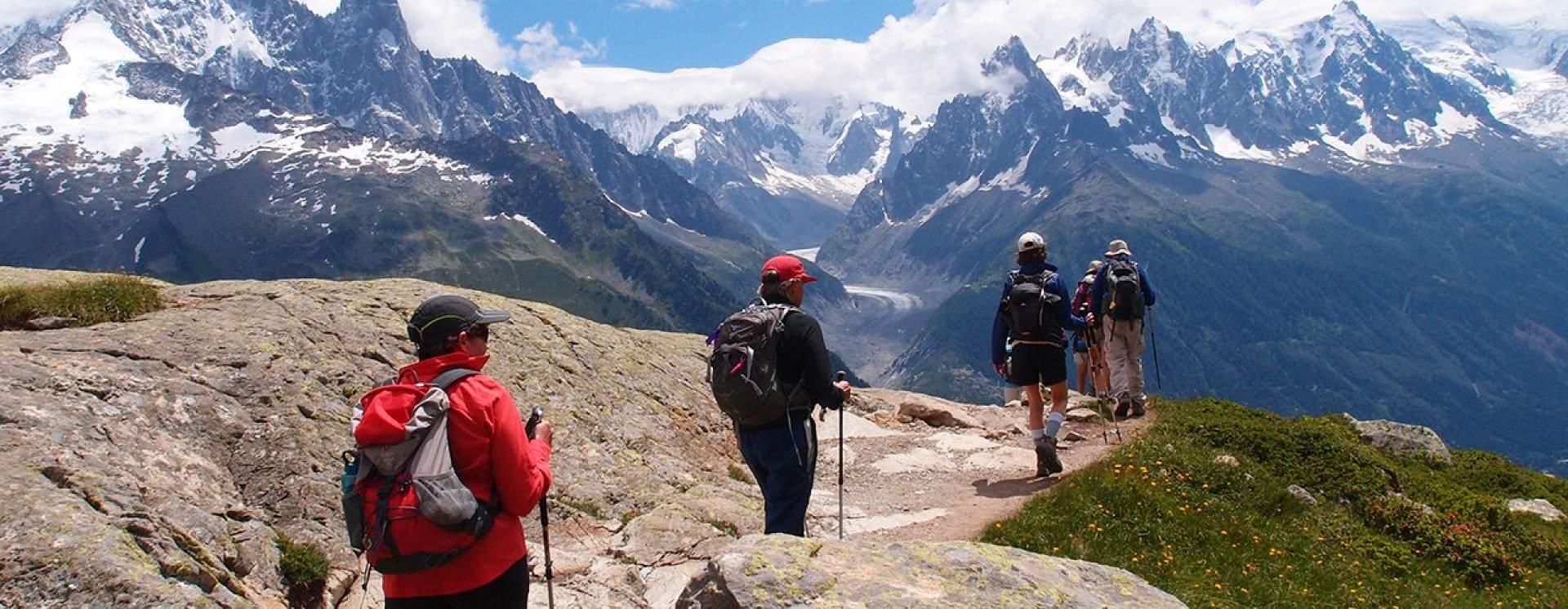 Randonnee Tour Du Mont Blanc Demi Tour Nord Chamonix Guides
