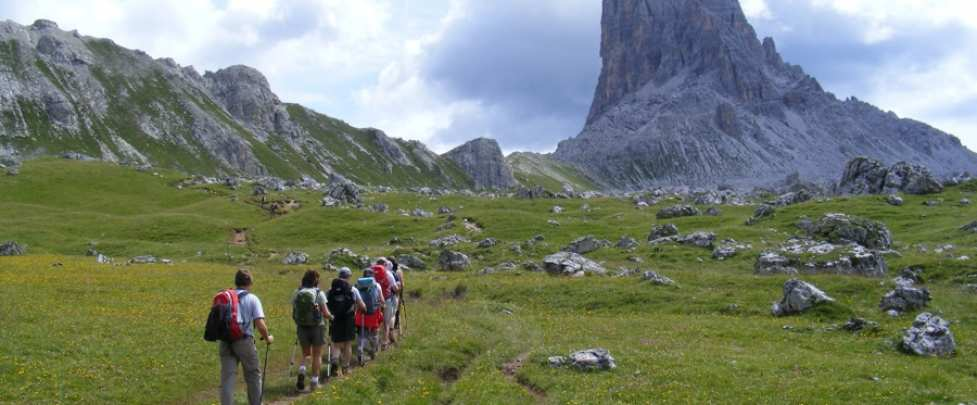 Dolomites of Cortina d'Ampezzo (Italy)