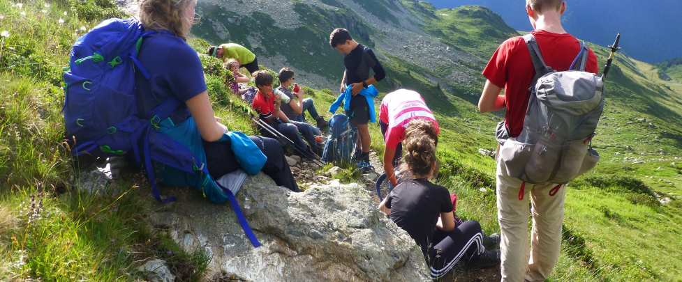Multi Activity course - Chamonix Base Camp 6 days - Teens