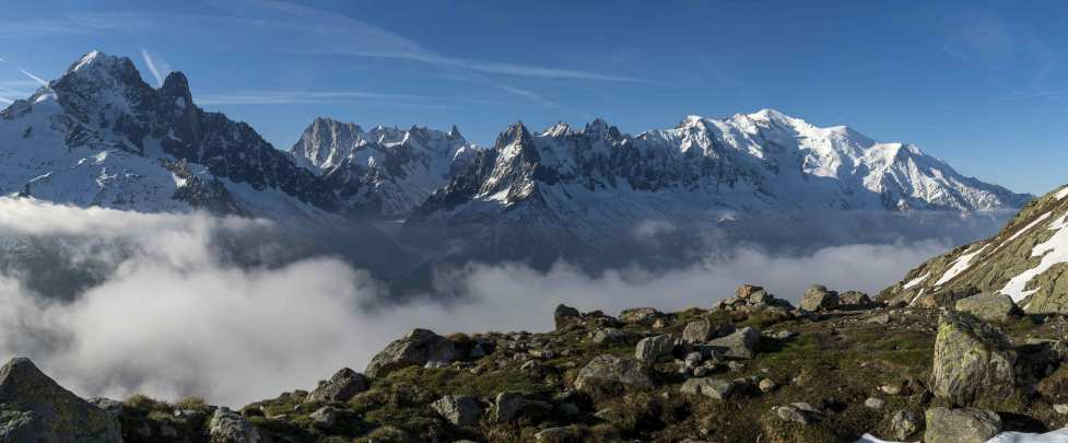 Hiking - Chamonix Valley via the Grand Balcon Sud - 3 days