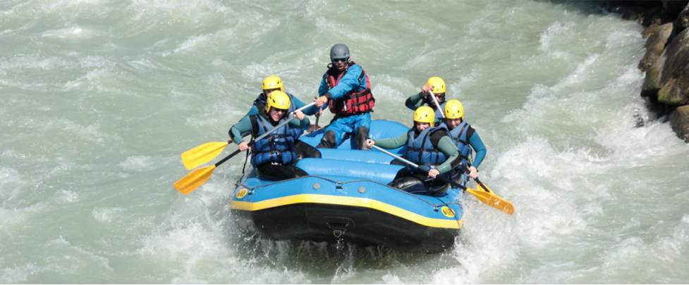 Rafting on the Arve