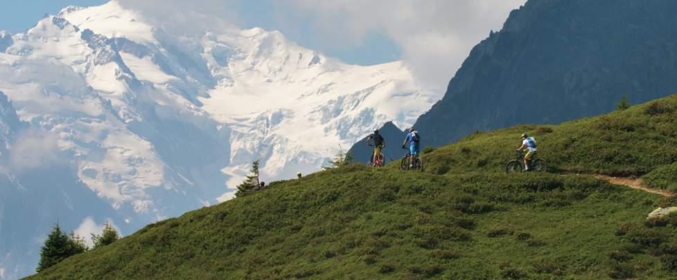 E-bike Mont Blanc RIDE